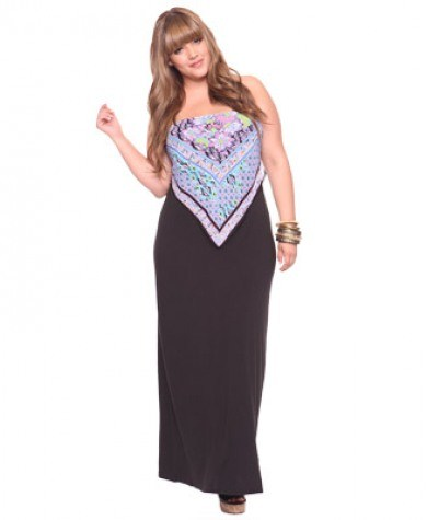 ~2011 Büyük Beden Elbise Modelleri~